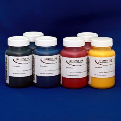 MISPRO Archival UltraChrome Compatible Color Inkset 6 Colors C,M,Y,K (Photo Black), LC, LM - six 120ml (4oz) bottles