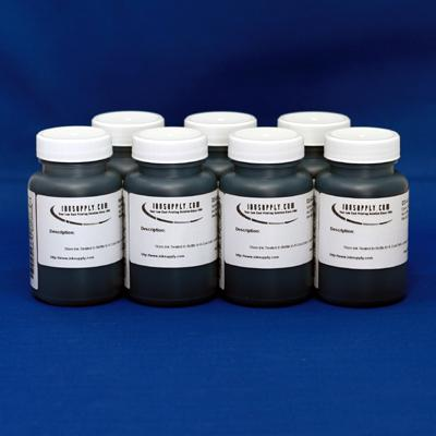 UT-3D BULK INK - 4 OZ BOTTLES - 7 BOTTLE INKSET(does not include photo black or llk) - (POSSIBLE 24-48 HOUR LEAD TIME)