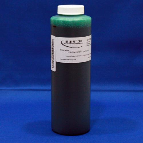 CLI8 Green Ink for Canon ChromaLife 100 Dyebase Printers - 480ml (16.2oz) - 32 refills