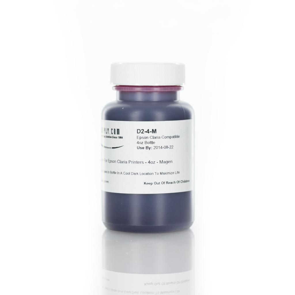 MIS Dyebase Ink for Epson Claria Printers - 120ml (4oz) - Magenta