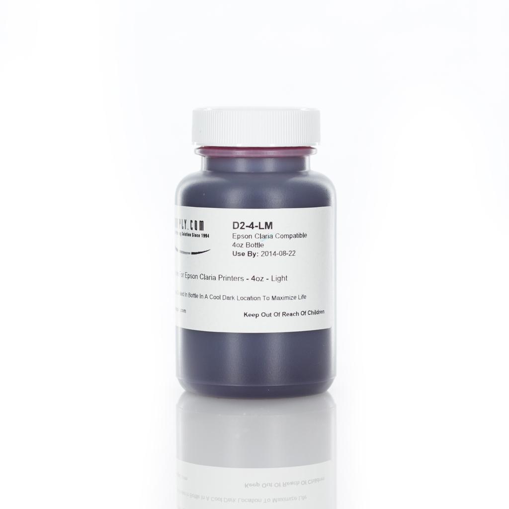 MIS Dyebase Ink for Epson Claria Printers - 120ml (4oz) - Light Magenta