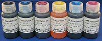 MIS Dyebase Inkset for Epson Claria Printers - 60ml (2oz) - 6 Color Inkset