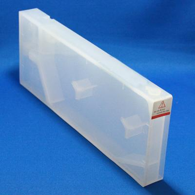 MIS Clear Funnel Fill Cart Epson 7800/9800 Empty with Chip Photo Black Position - Refillable (funnel not included)