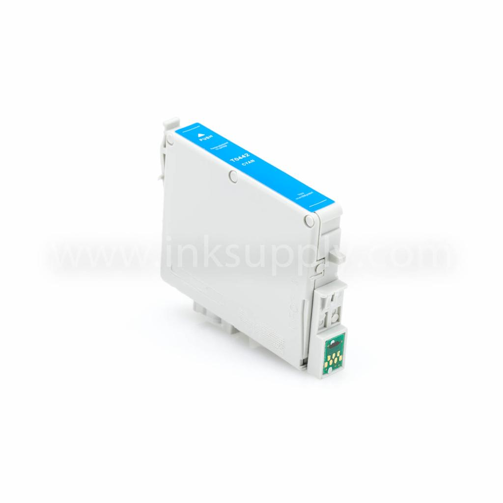 Remanufactured Epson T0442 Cyan Ink Cartridge