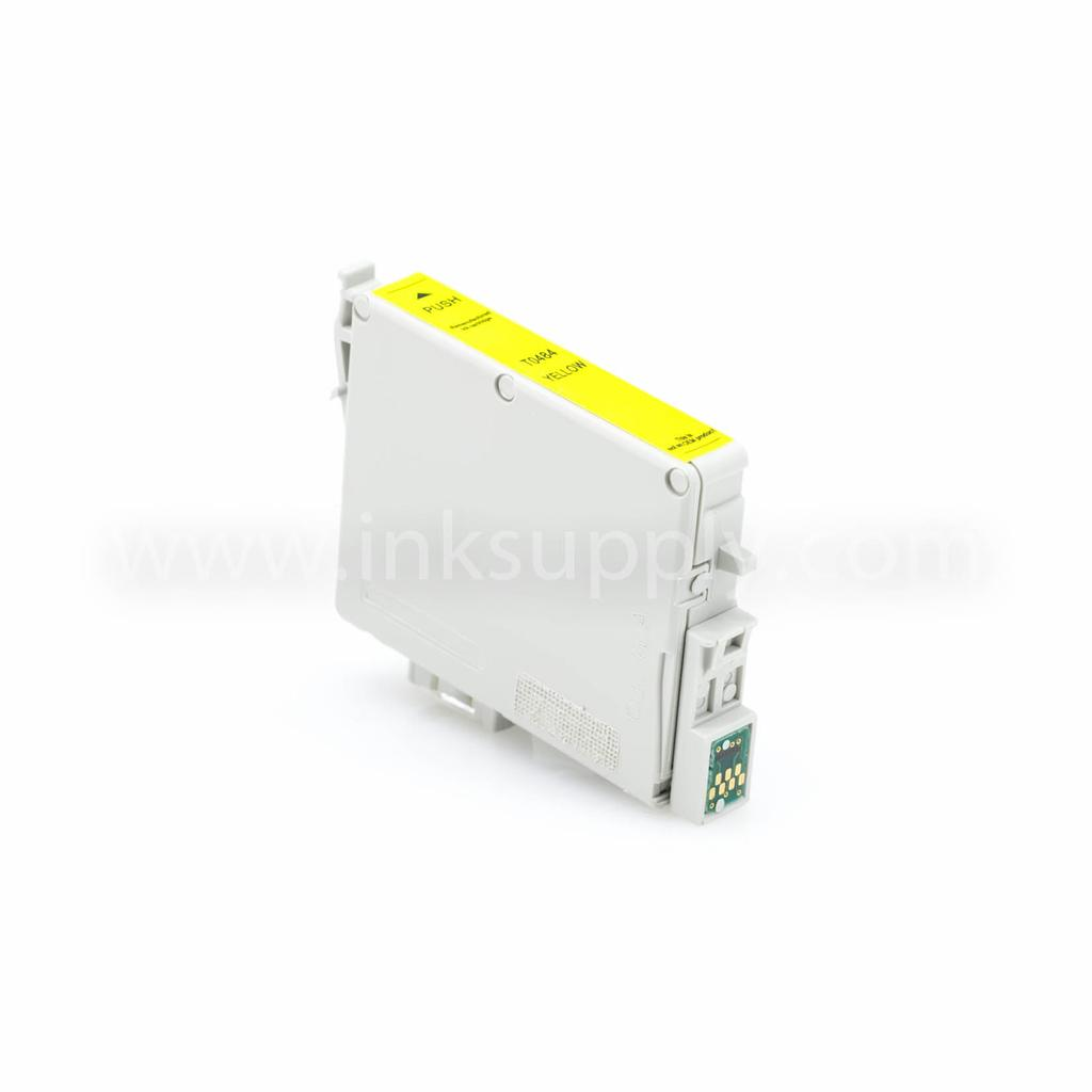 Remanufactured Epson T0484 (T048420) Yellow Ink Cartridge