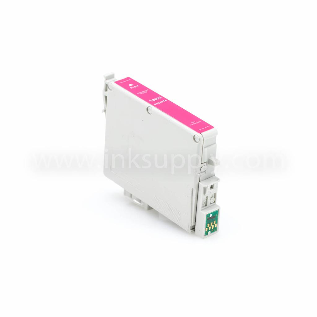 Remanufactured Epson T0603 (T060320) Magenta Ink Cartridge