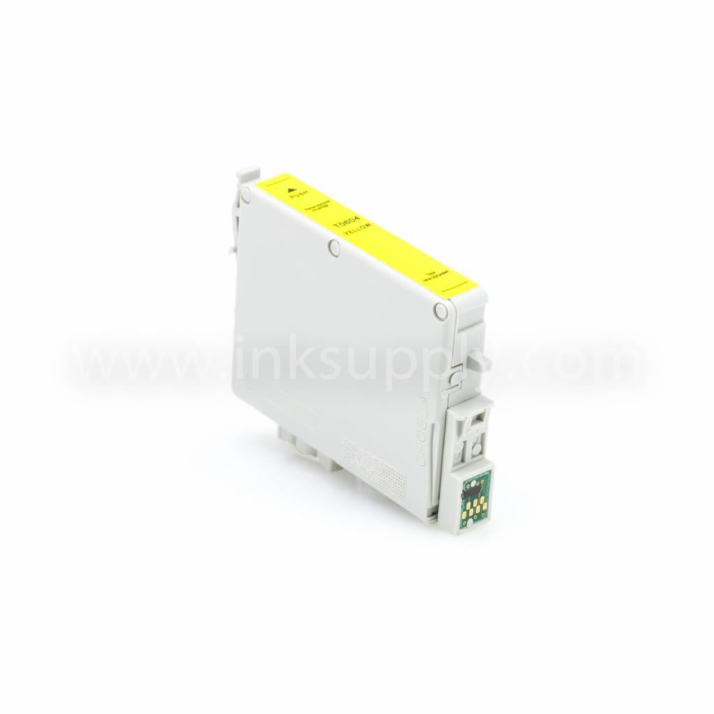 Remanufactured Epson T0604 (T060420) Yellow Ink Cartridge
