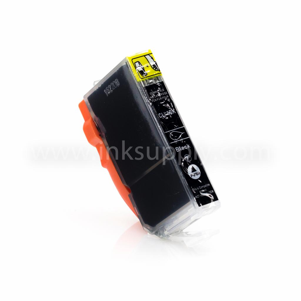 Compatible CLI-8BK Black Cartridge For Canon Printers - Not OEM