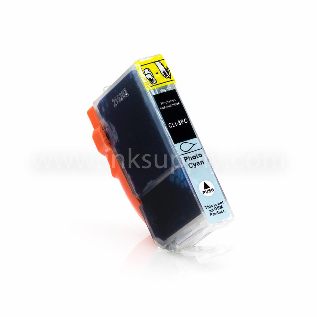 COMPATIBLE CANON CLI-8PC (CLI8) PHOTO CYAN INK CARTRIDGE