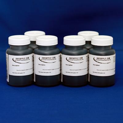 UT14 Black and White Carbon inkset 6 - 4 ounce bottles with Eboni Black v1.1