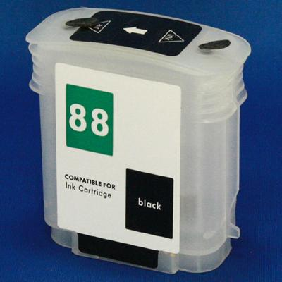 HP (HP88) Refill Friendly High Capcity Black 88 Cartridge - Empty No Ink