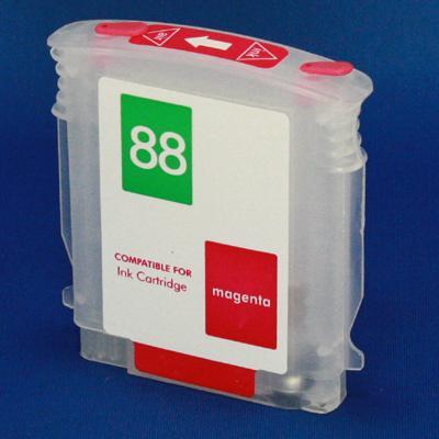 HP (HP88) Refill Friendly Magenta 88 Cartridge - Empty No Ink