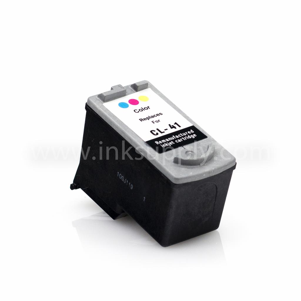 REMANUFACTURED CANON CL-41 (CL41) TRI COLOR INK CARTRIDGE