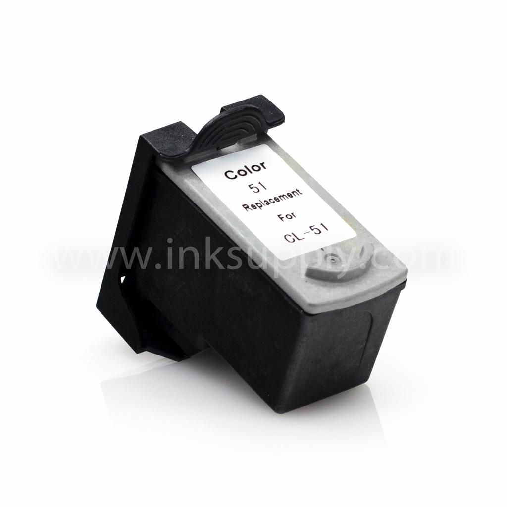 CANON CL-51 REMANUFACTURED COLOR INK CARTRIDGE - Clearance, Limited Stock