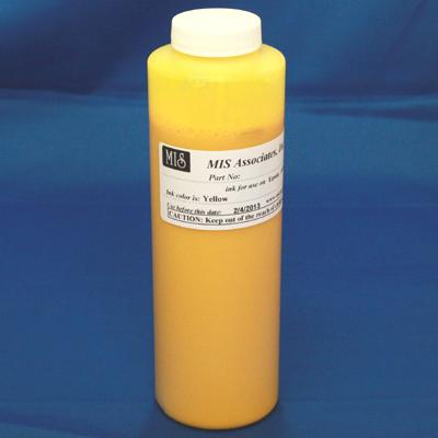 HP Vivera Compatible Pigment 480ml (16.2oz) bottle - Yellow