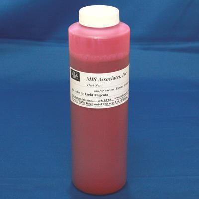 HP Vivera Compatible Pigment 480ml (16.2oz) bottle - Light Magenta