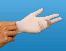 VINYL (LATEX FREE) GLOVES - ONE PAIR