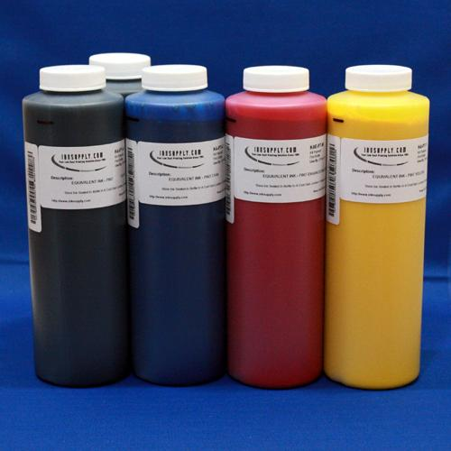 MIS MP (MISPRO) Pigment Color 480ml (16.2oz) Inkset 5 Colors C,M,Y,MK,MK (Univ Black)