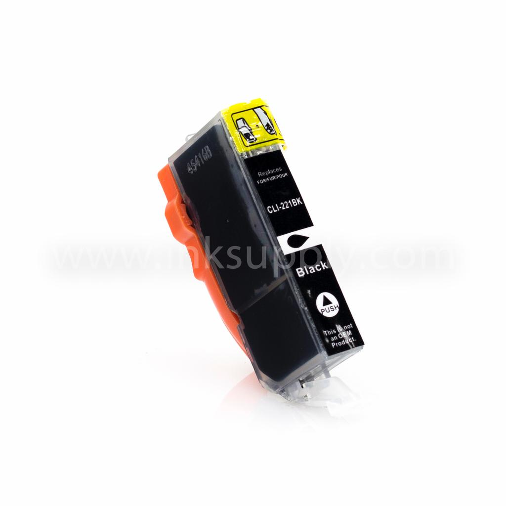 Compatible CLI221 Black Cartridge For Canon Printers - Not OEM