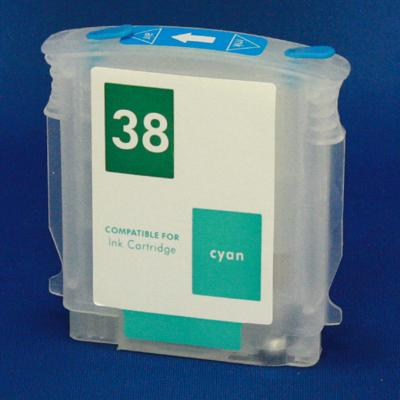 EMPTY CYAN HP REFILLABLE CARTIRDGE #38