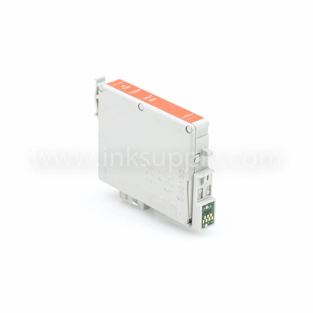 Remanufactured Epson T0547 Red Ink Cartridge