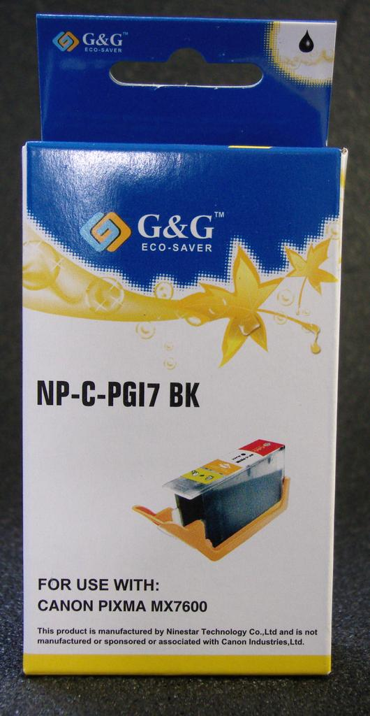 COMPATIBLE CANON PGI-7BK (PGI7) BLACK INK CARTRIDGE