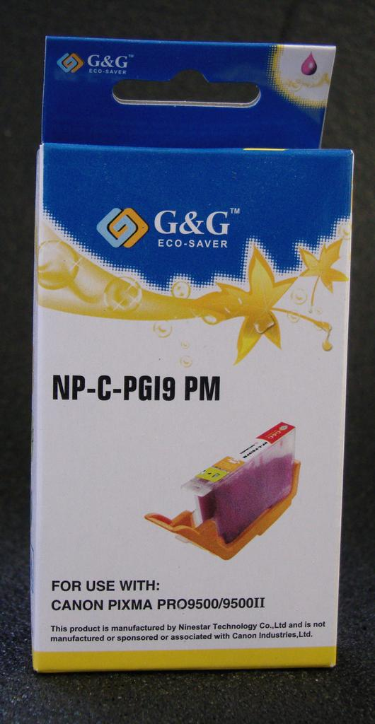 COMPATIBLE CANON PGI-9M (PGI9) PHOTO MAGENTA INK CARTRIDGE
