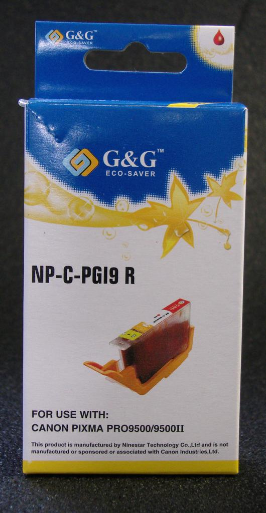 COMPATIBLE CANON PGI-9R (PGI9) RED INK CARTRIDGE