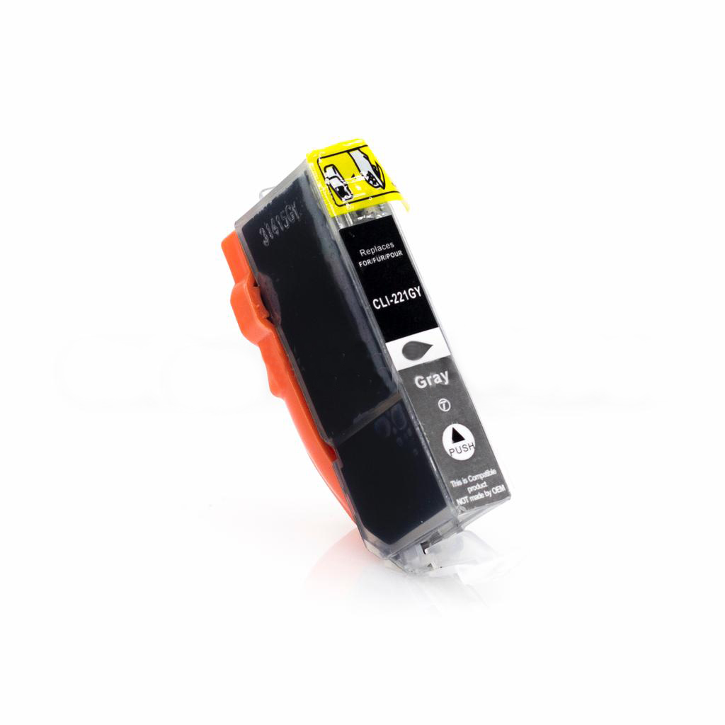 Compatible CLI221 Gray Cartridge For Canon Printers