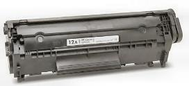 COMPATIBLE HP Q2612A (12A) BLACK LASER TONER CARTRIDGE
