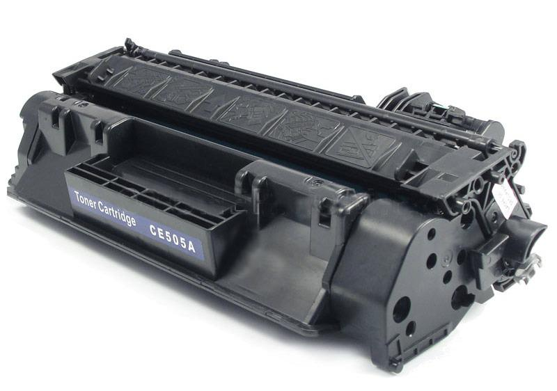 COMPATIBLE HP CE505A (05A) BLACK LASER TONER CARTRIDGE