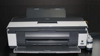 Epson WorkForce 1100 CFS complete system carts with tubing and parts, ink not included - 48Hour Lead Time