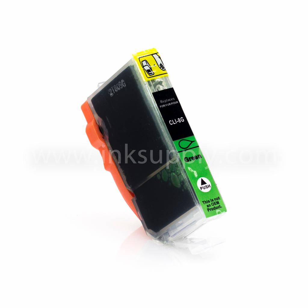 COMPATIBLE CANON CLI-8G (CLI8) GREEN INK CARTRIDGE