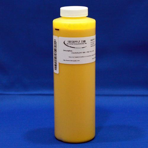 Inksupply HP2000 Yellow Ink For HP Dyebase Printers - 480ml (16.2oz) - 40 refills