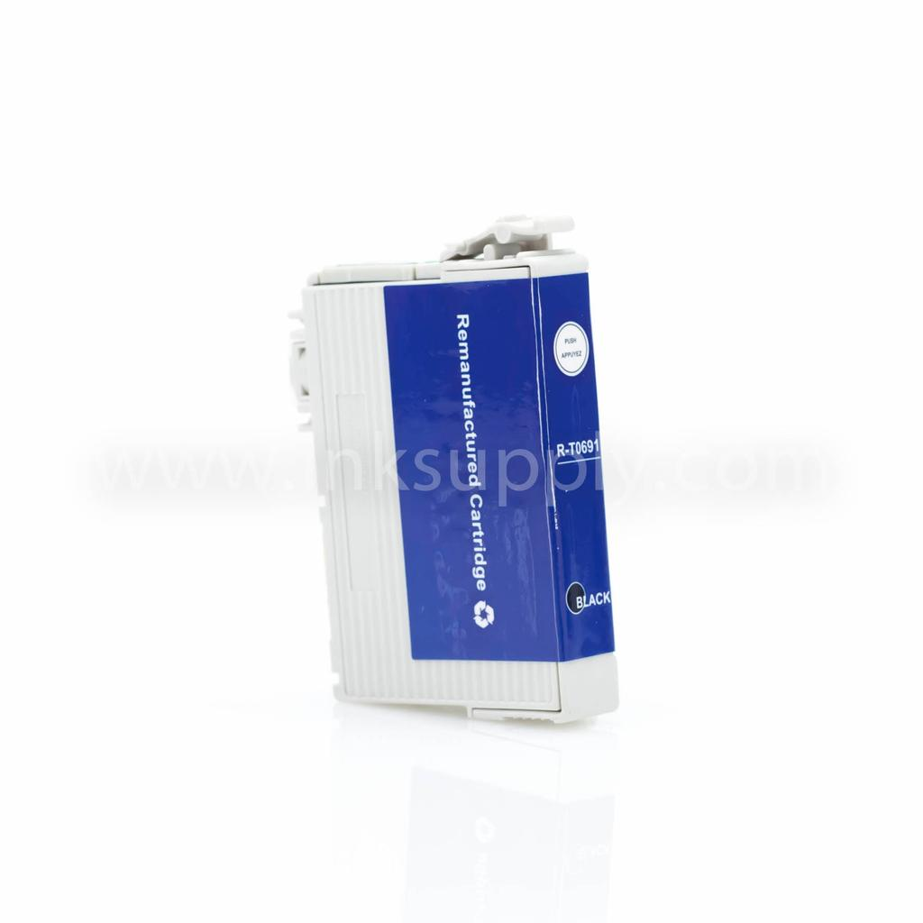 Remanufactured Epson T0691 Black Ink Cartridge