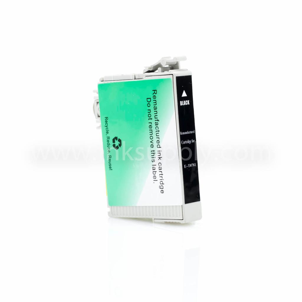 Remanufactured Epson T0781 Black Ink Cartridge