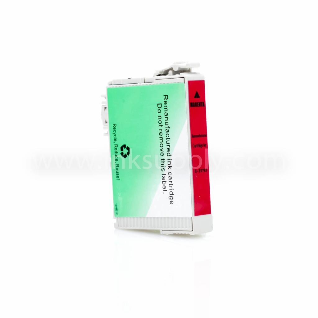 REMANUFACTURED EPSON T0783 (T078320) MAGENTA INK CARTRIDGE
