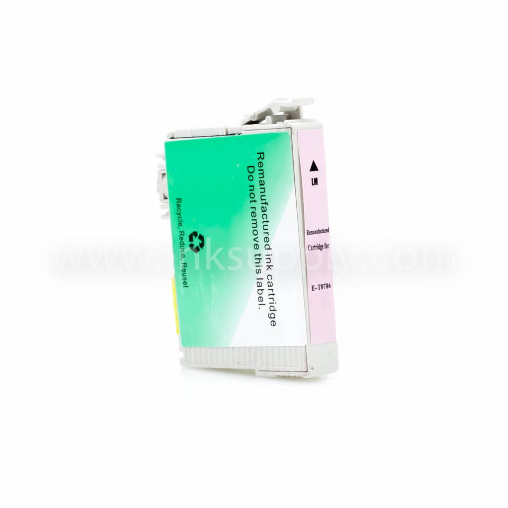 Remanufactured Epson T0786 Light Magenta Ink Cartridge
