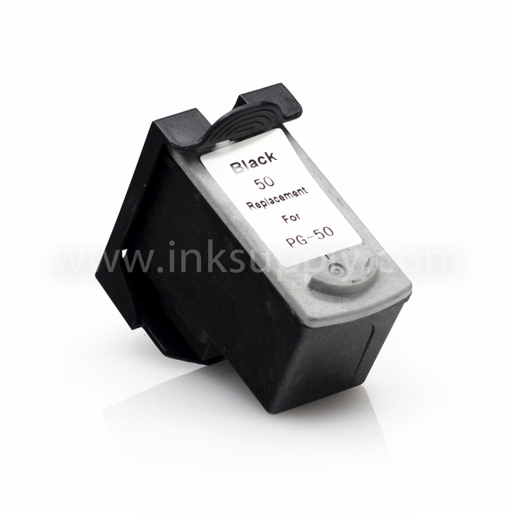 REMANUFACTURED CANON PG-50 PG50) PIGMENT BLACK INK CARTRIDGE