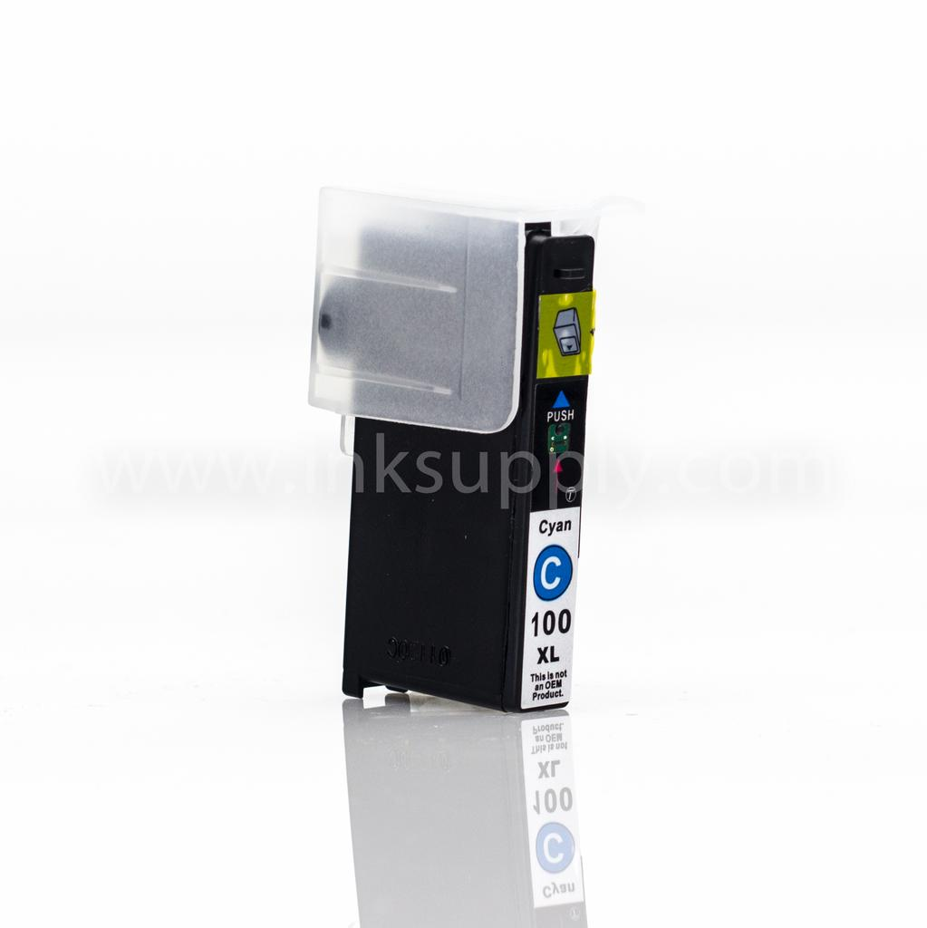 LEXMARK R-14N1069 (100XL) REMANUFACTURED CYAN INK CARTRIDGE - Clearance, Limited Stock