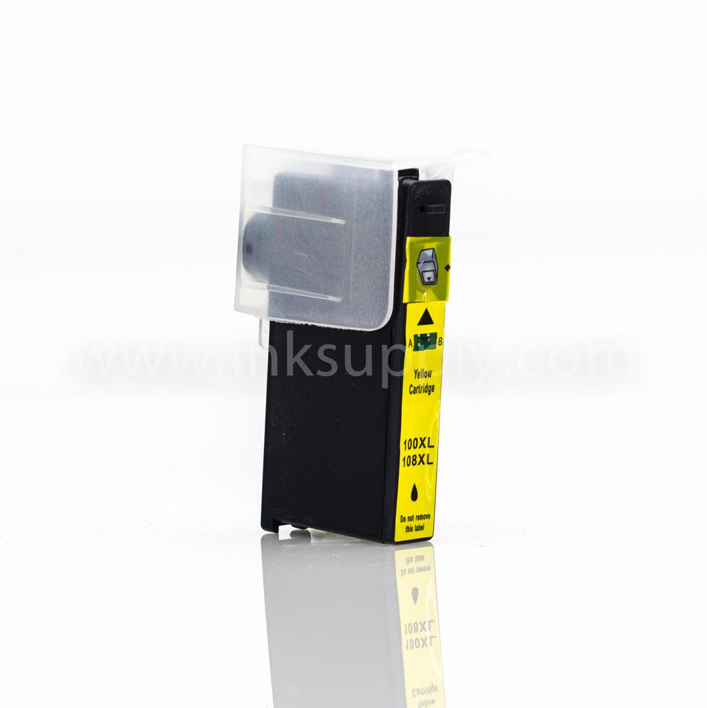 LEXMARK R-14N1071 (100XL) REMANUFACTURED YELLOW INK CARTRIDGE - Clearance, Limited Stock