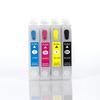 Empty Set of 4 T068 (68) High Capacity Cartridges W/ QUICK RESET CHIP