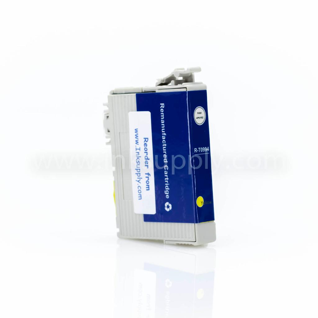 REMANUFACTURED EPSON T0994 YELLOW CARTRIDGE (T099420) - Clearance, Limited Stock