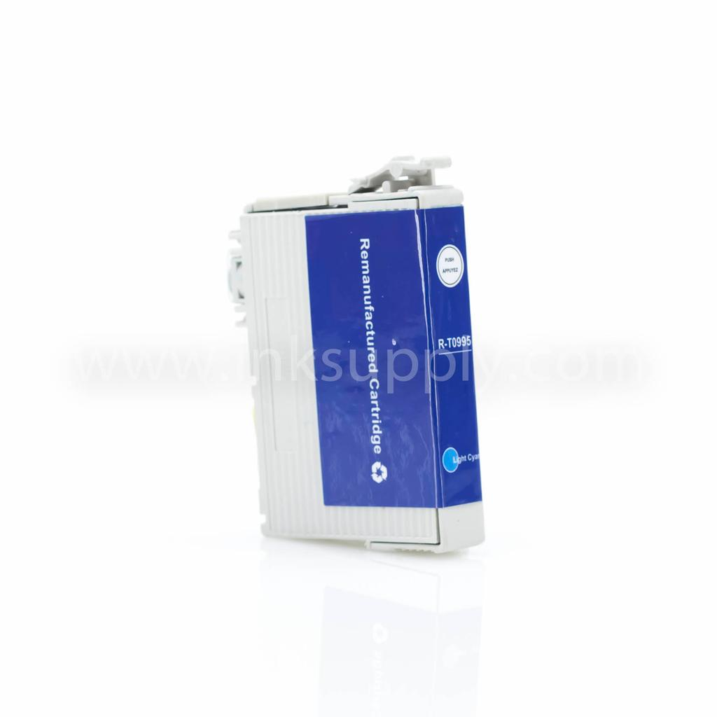 REMANUFACTURED EPSON T0995 LIGHT CYAN CARTRIDGE (T099520)