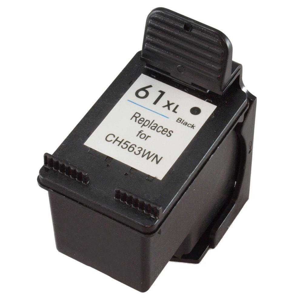 REMANUFACTURED HP CH563WN (61XL) HIGH YIELD BLACK INK CARTRIDGE