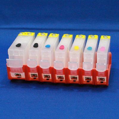 EMPTY REFILLABLE CLI-8/PGI-5 CARTRIDGE SET W/QUICK RESET CHIP