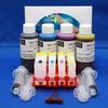 Complete Refill Kit for 4 Cartridge CLI8 C,M,Y AND PGI5-K - Printers Includes Accessories, Cartridges and Ink