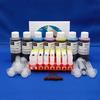 Complete Refill Kit for 7 Cartridge CLI8 BK,C,M,Y,PC,PM AND PGI5-K - Printers Includes Accessories, Cartridges and Ink