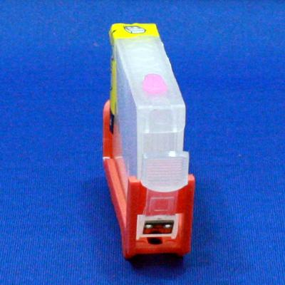 EMPTY REFILLABLE CLI-8 PHOTO MAGENTA CARTRIDGE W/QUICK RESET CHIP