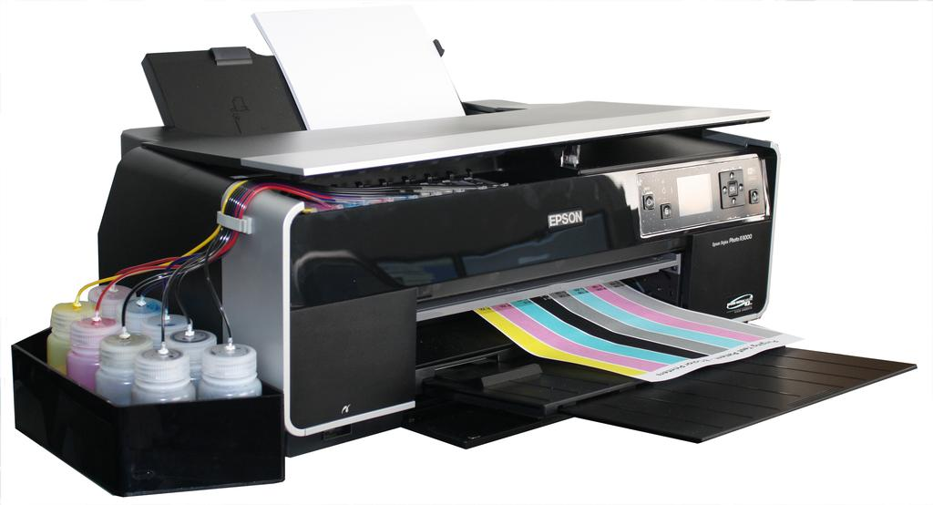 Empty Continuous Flow System (CFS) For Epson Stylus Photo R3000